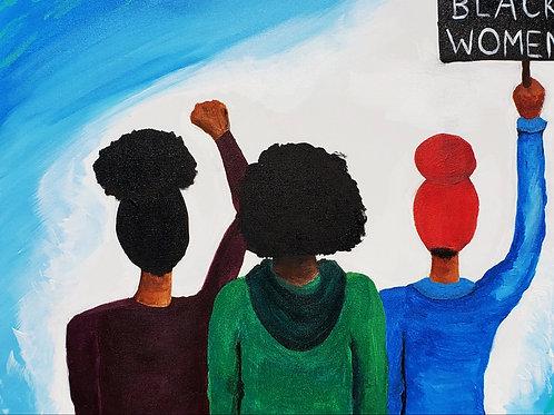 Black Women March