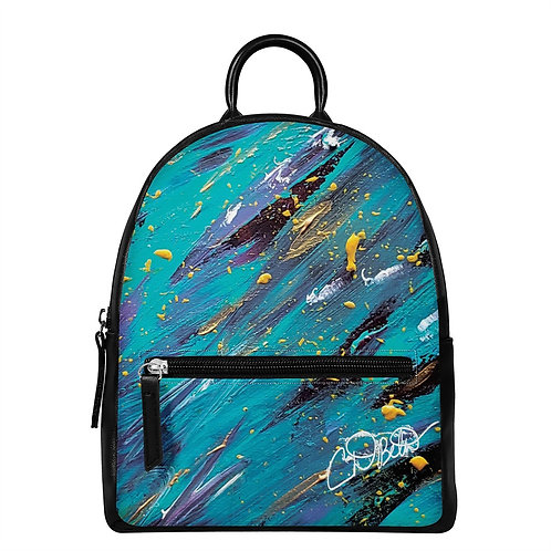 The Journey PU Backpack