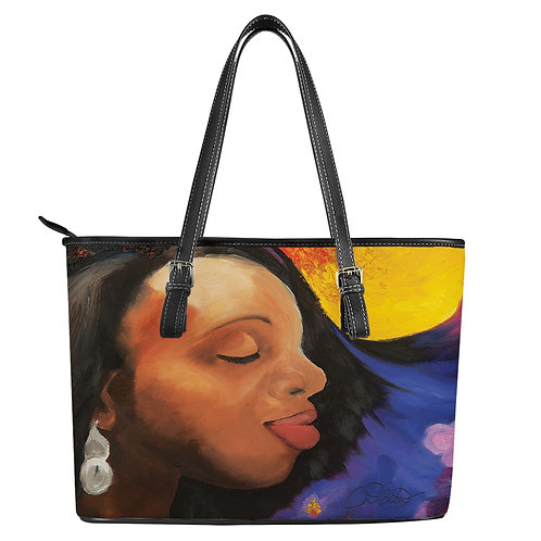 Better Days Ahead Leather Tote Bags