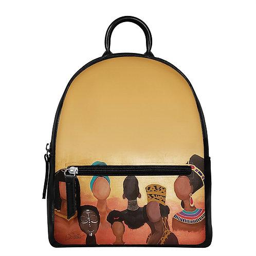 Queen Me PU Backpack