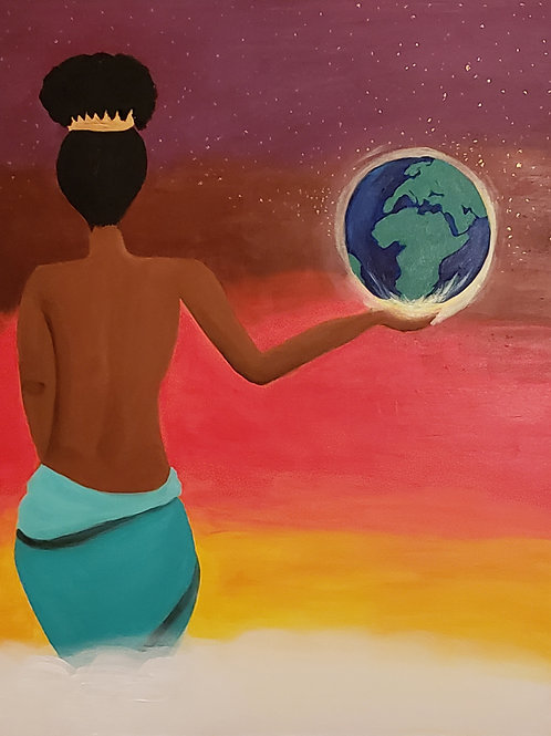 PRINT: She Rules The World