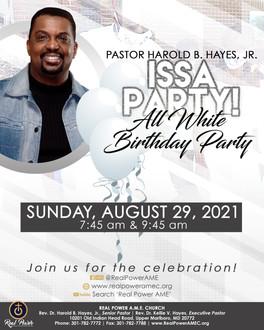 Sunday, August 29th