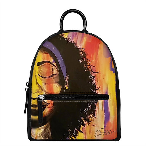Her Own Peace PU Backpack