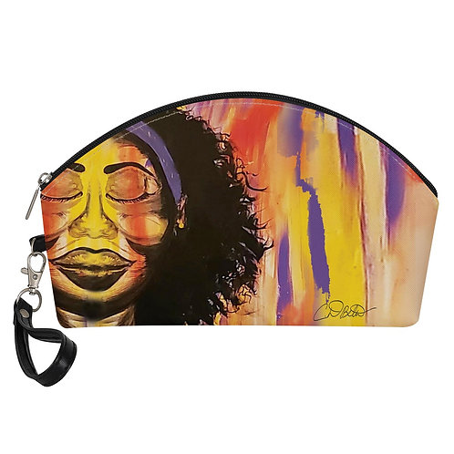 Her Own Peace Curve Cosmetic Bags