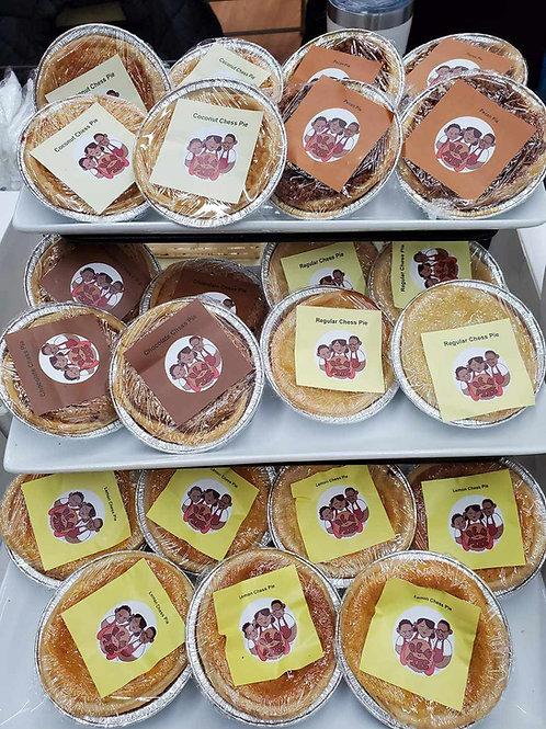 Baker's Dozen of Chess Pie Tarts