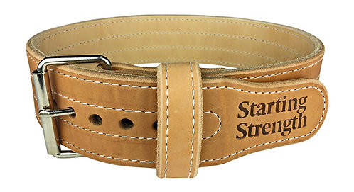 Starting Strength 3in Double Ply Leather Weightlifting Belt