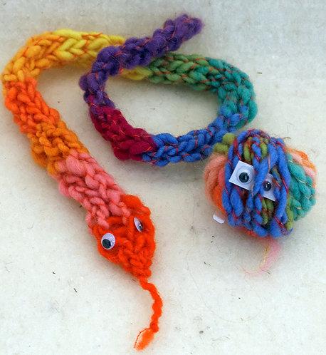 Kit de tricot à doigt - Serpent
