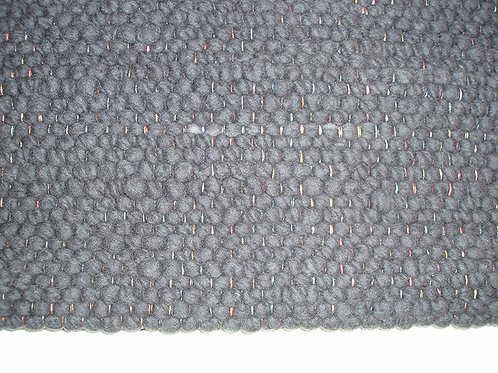 Tapis tissé main - Couleur Anthracite