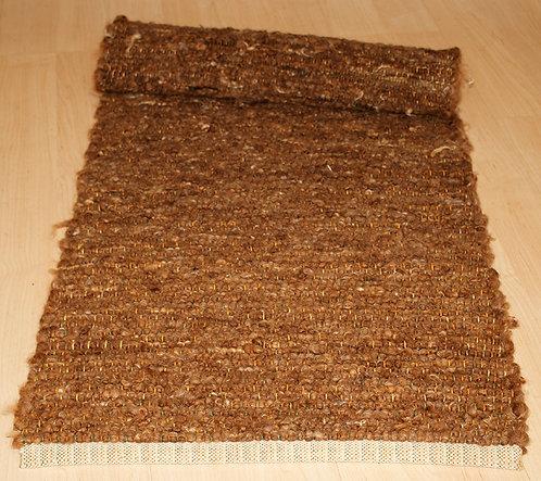Tapis en laine mèches - Race : Roux de Berne