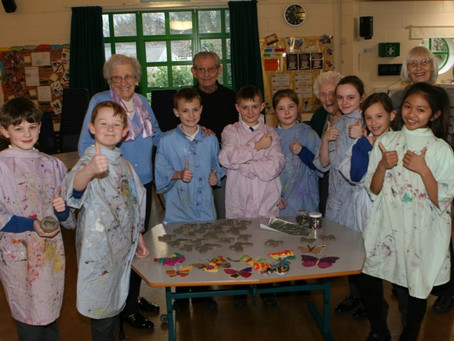 Neston Angels Celebrate Later Life with Social Butterflies