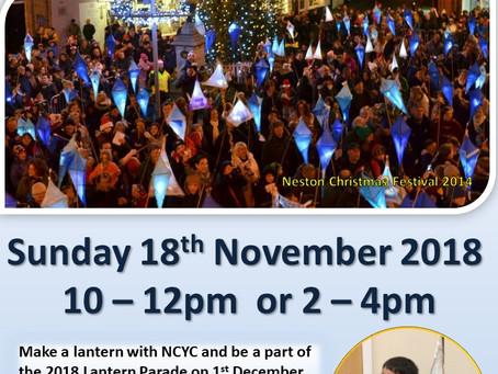 Make a Lantern - Sunday 18th November