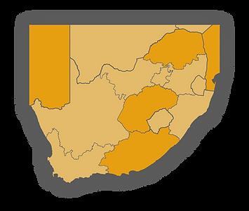 South Africa Map Mafojani Safaris