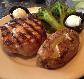 Thick Cut Bone-in Pork Chop