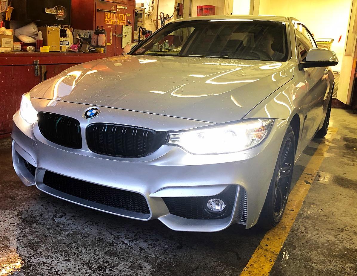 BMW M4 Bumper