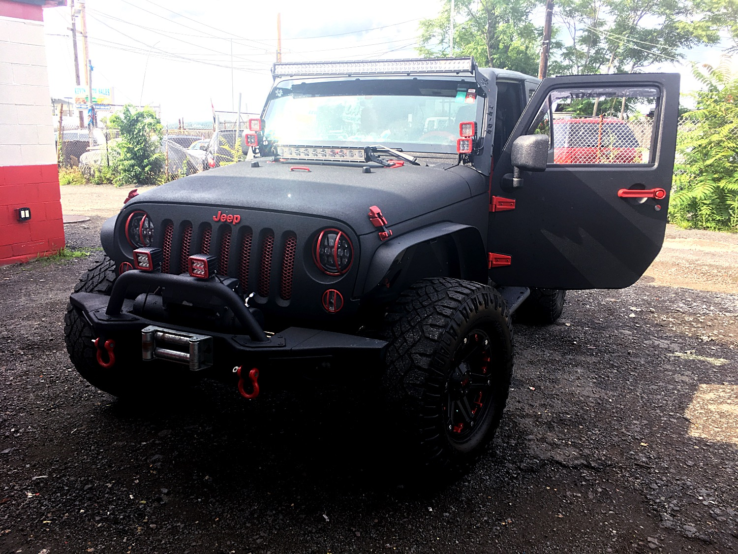 Fully Customized JEEP