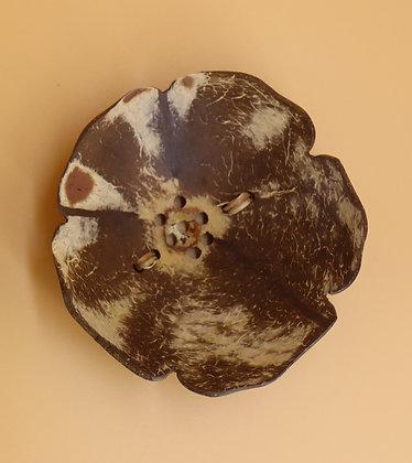 Porte-savon en noix de coco
