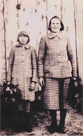 rozalija tverjonaite (d) ir bronele tver