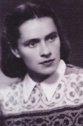 Vera Leliene (Janonyte) apie 1945 m. .JP