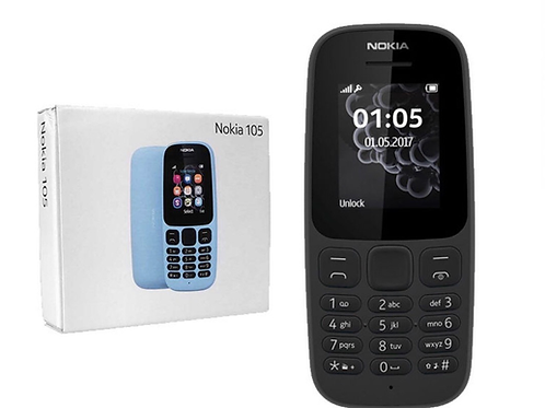 Brand New Nokia 105 Black Unlocked