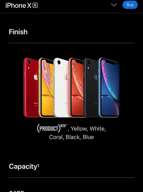 iPhone XR 64GB Grade AAA+ Black