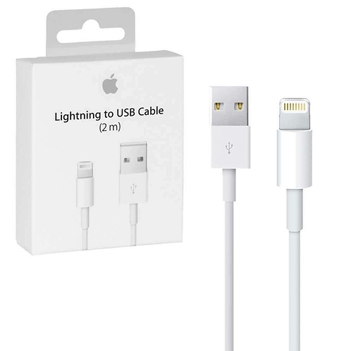 Apple Lightning to USB Charge and Sync Cable 2M