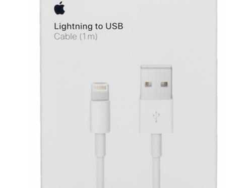 Apple Lightning to USB Charge and Sync Cable 1M