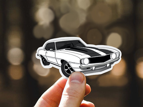Camaro Stickers, Classic Car, Vinyl Decals, Sports Cars, Water bottle