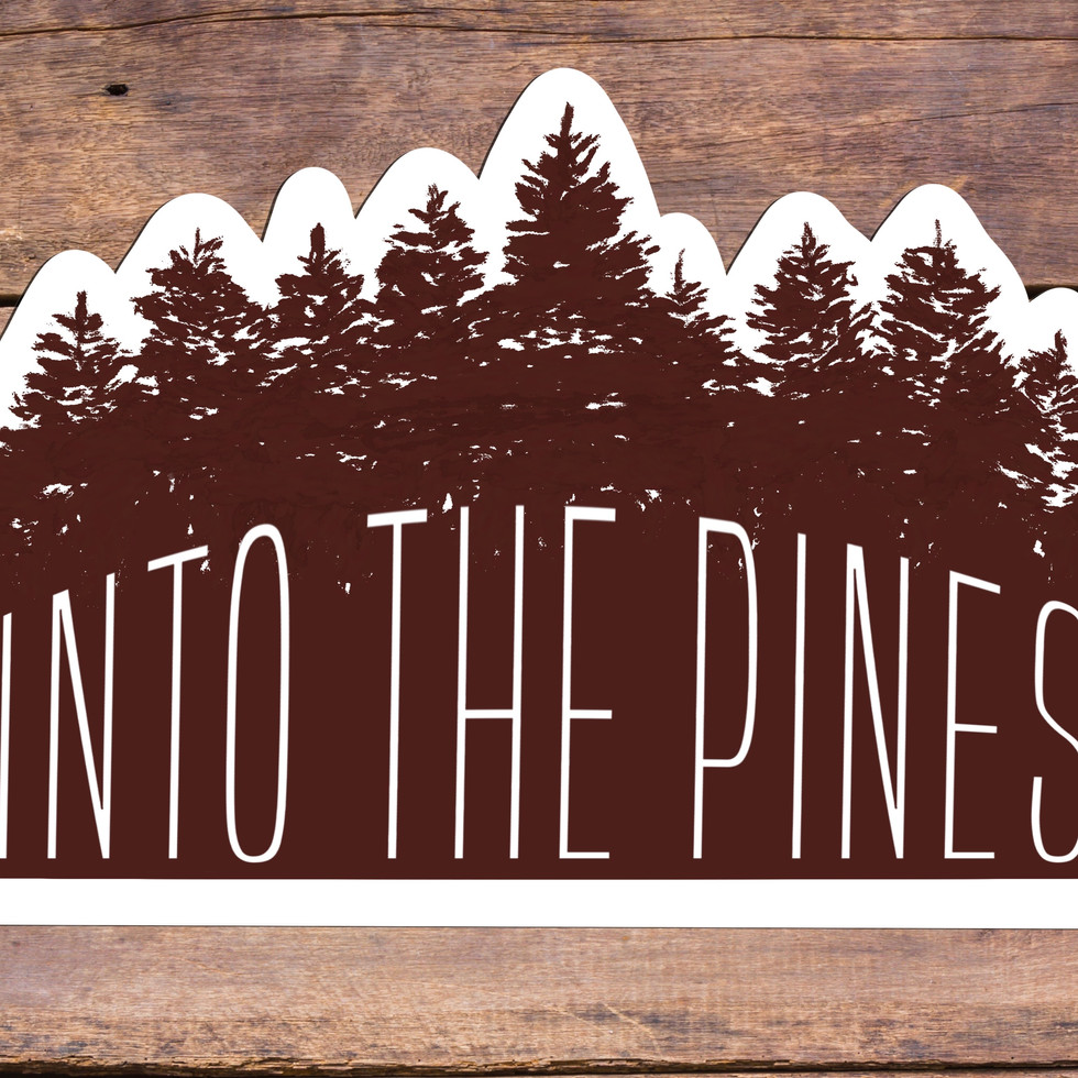 Into the Pines Sticker