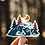 Thumbnail: Sticker Pack, 30 pcs, Outdoor Adventure, Camping, Hiking, Mountains Vinyl Decals