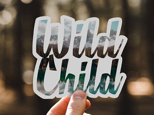 Wild Child, Vinyl Sticker