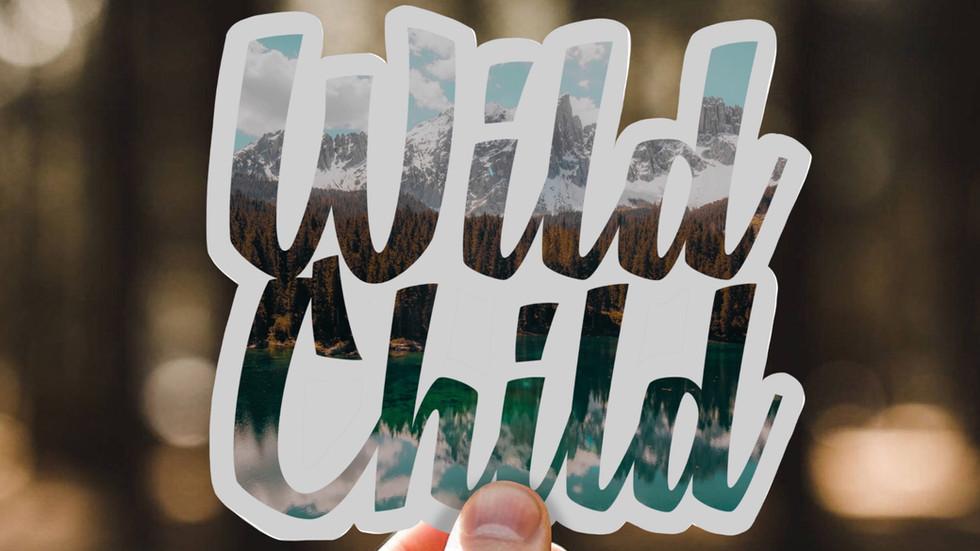 Wild Child Sticker