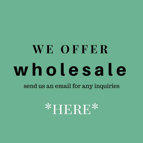 wholesale inquiries