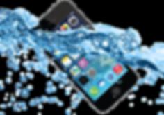 iphone caiu na agua