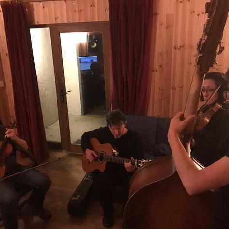 Adam Shapiro, Peter Gallagher, Andí Leahy and Jon O'Connell, Malbay Studios, Miltown Malbay, Co. Clare, Ireland 2017