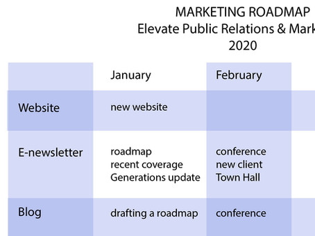 TIP OF THE MONTH: How to Draft a Marketing Roadmap