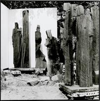 Klemens Albert Körner | Freiluftatelier bei Schwarzenberg/Erzgebirge | 1990 | Silbergelatineabzug | 49,2 x 49,2 cm | 600 Euro