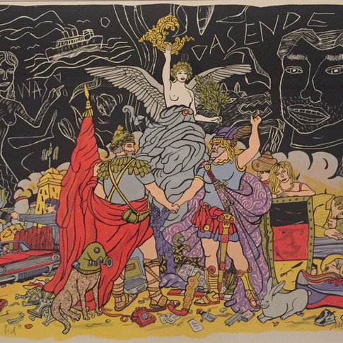 Moritz Götze | Vom Ende des Liedes | 2007 | Serigrafie | 50 x 70 cm