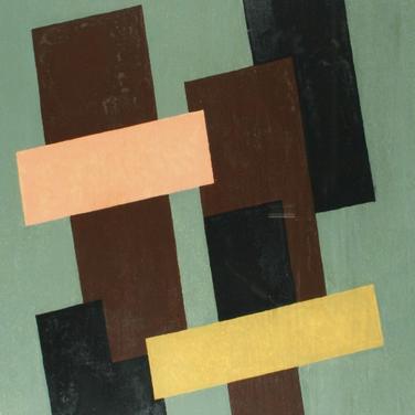 Georg Paul I Komposition 193 I 1971 I Tempera gefirnißt I 39 x 28 cm I 1400 Euro