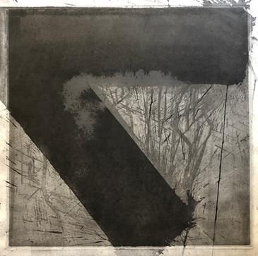 Michael Morgner | Herbst | 1981 | Lavage auf Bütten | 54 x 54 cm | 750 Euro
