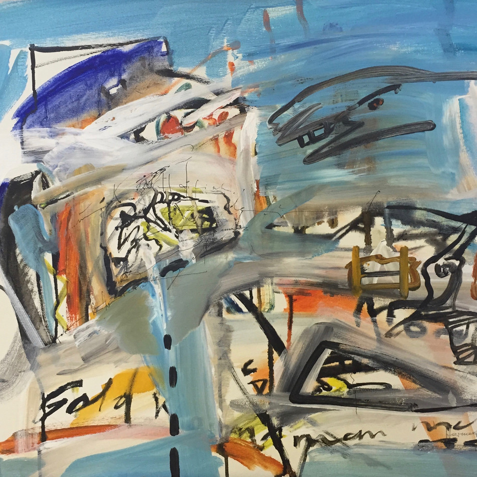 Dagmar Ranft-Schinke   Hermeneutisches Ideogram (Hommage a Brecht)   2007   60 x 80 cm   4000 Euro