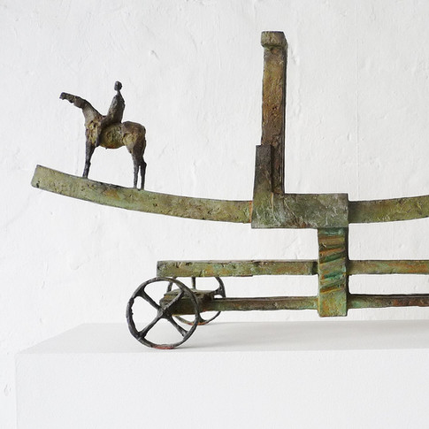 Michael Jastram | Torstrasse | 2011 | Bronze | 2/6 | 41 x 84 x 19 cm | 13000 Euro