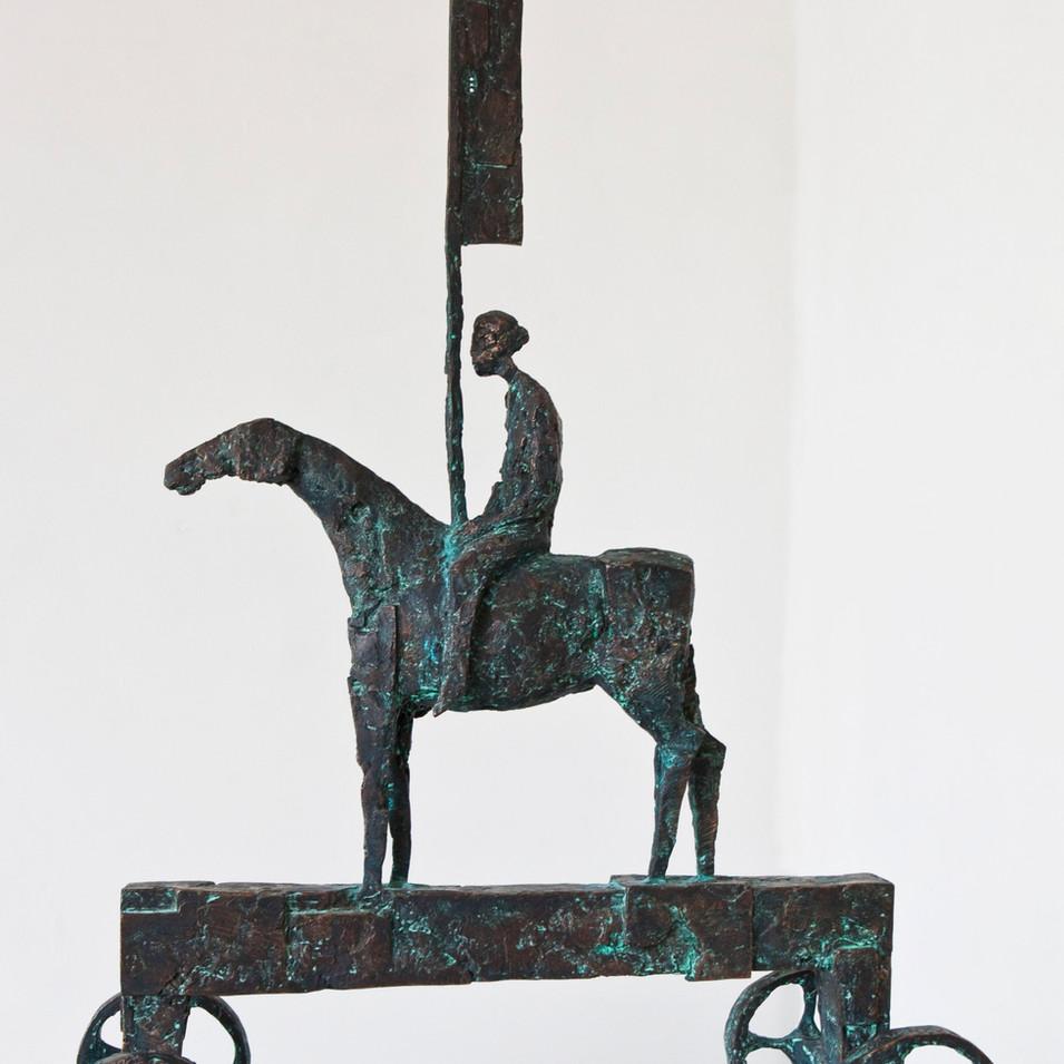 Michael Jastram | Bote | 2011 | Bronze | 1/6 | 101,5 x 72 x 30 cm | 16000 Euro