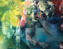 Isabelle Dutoit | Dompteur | 2011 | Öl auf Leinwand | 62 x 79 cm | 3900 Euro