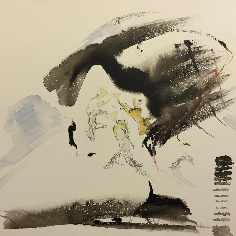 Dagmar Ranft-Schinke   Non Non   Stufe III   2010   Acryl auf Leinwand   40 x 50 cm   950 Euro