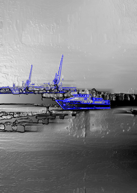 Anna Kasten | Werft Wismar | 2020 | Inkjet Karton | 29,7 x 21 cm | 80 Euro