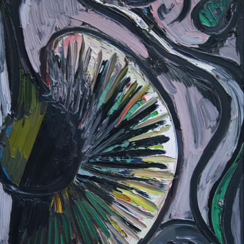 Hubertus Giebe | o.T. | 1996 | Ölfarbe auf Leinwand | 30 x 40 cm | 2500 Euro