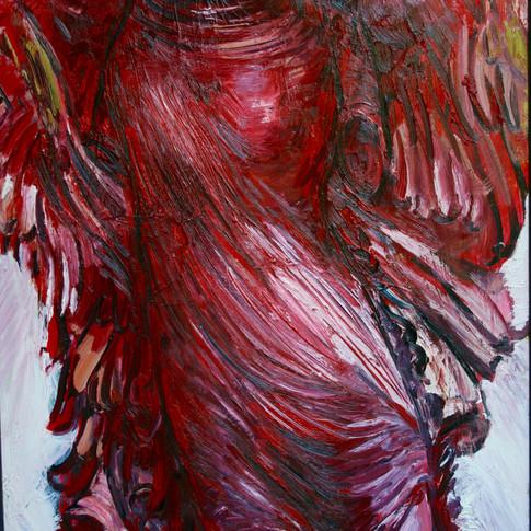 Hubertus Giebe | o.T. | 2004 | Ölfarbe auf Leinwand | 95,5 x 70 cm | 5800 Euro