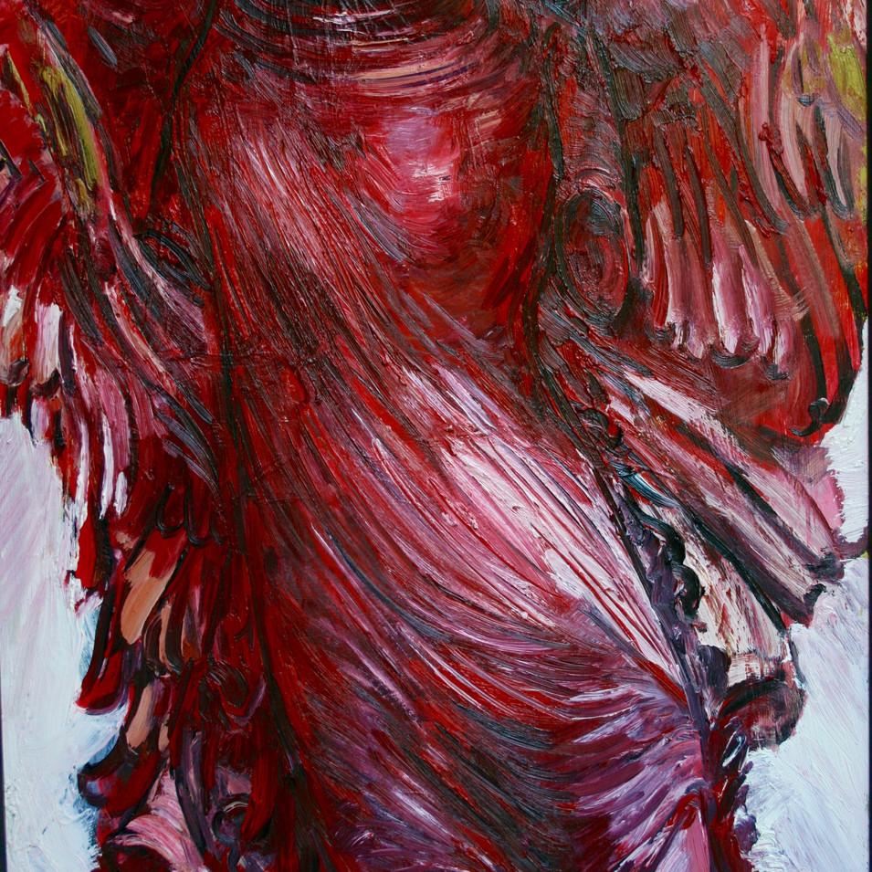 Hubertus Giebe   o.T.   2004   Ölfarbe auf Leinwand   95,5 x 70 cm   5800 Euro
