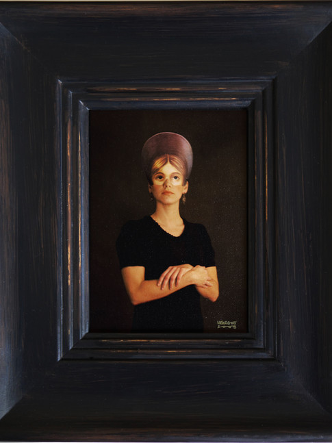 Anna Herrgott | FIVE WOMEN - Miss in Blue m.R. | 2008 | Fotografie | 33 cm x 28 cm | Auflage 5