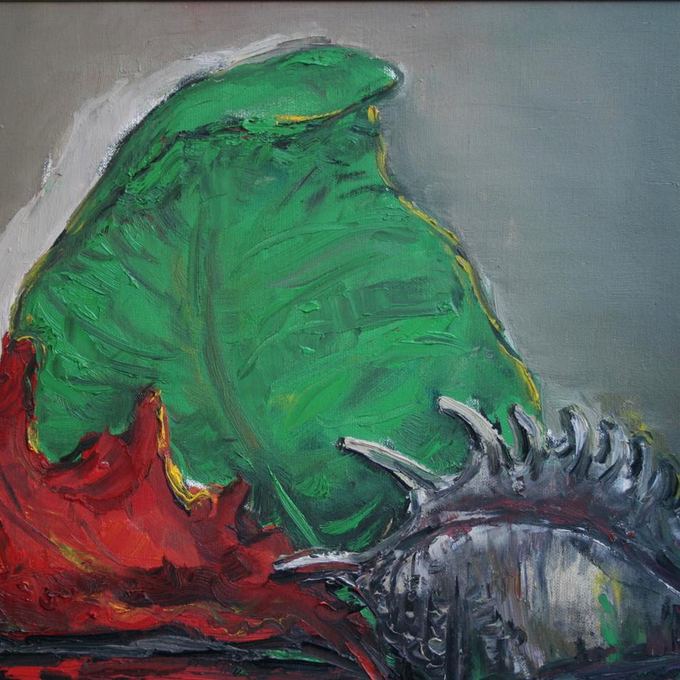 Hubertus Giebe   o.T.   2015   Ölfarbe auf Leinwand   42 x 61 cm   3600 Euro